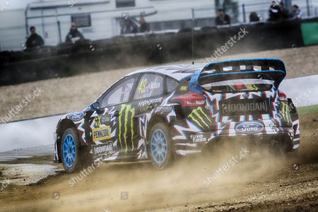Ken Block, Hoonigan Racing Division during WRX 2017 Round Four Qualifying at Circuit Jules Tacheny on 13th May 2017