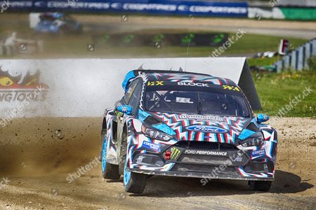 Ken Block, Hoonigan Racing Division finished day 1 in fifth position overall during WRX 2017 Round Four Qualifying at Circuit Jules Tacheny on 13th May 2017