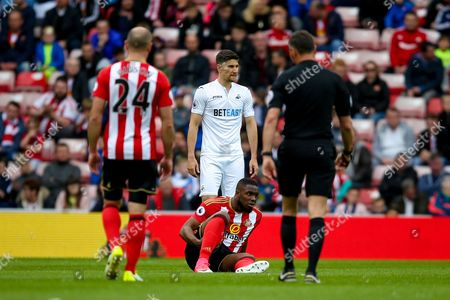 Editorial picture of Sunderland v Swansea City, Premier League - 13 May 2017
