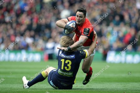 Editorial image of Saracens v Clermont Auvergne, European Rugby Champions Cup Final, Rugby Union, Murrayfield, Edinburgh, UK - 13/05/2017