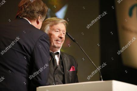 Jörg Kachelmann mit Karl Heinz Richard Prince von Sayn-Wittgenstein