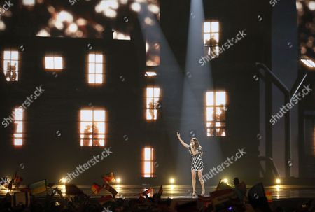 Editorial picture of Grand Final - 62nd Eurovision Song Contest, Kiev, Ukraine - 13 May 2017
