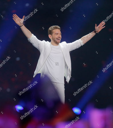 Editorial picture of Eurovision Song Contest, Kiev, Ukraine - 13 May 2017