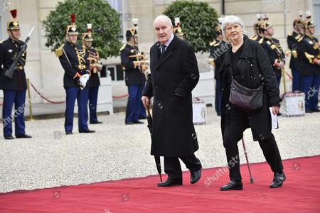 Michel Bouquet and Juliette Carre