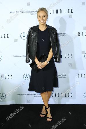 Editorial photo of Dion Lee show, Mercedes-Benz Fashion Week, Sydney, Australia - 14 May 2017
