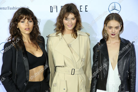 Stock Picture of Georgia Fowler, Montana Cox and Rosie Tupper
