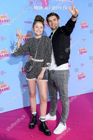 Faye Montana and Lucas Reiber