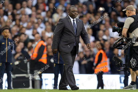 Former Spurs striker Garth Crooks after Tottenham Hotspur vs Manchester United, Premier League Football at White Hart Lane on 14th May 2017