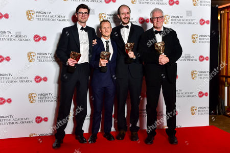 Mini-Series  -  Winner National Treasure with George Ormond, Marc Munden, Jack Thorne and John Chapman