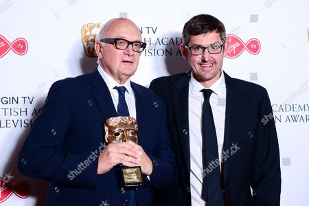 Stock Photo of Nick Fraser - Special Award With Louis Theroux