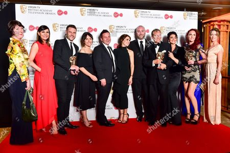 Soap & Continuing Drama  -  Winner Emmerdale with Karen Young, Lucy Pargeter, Kate Brooks, Michael Lasey, Danny Miller, Gillian Kearney, Ian McCloud, Natalie J Robb, John Middleton, Kate Oates, Jean Helley and Janine Goodall