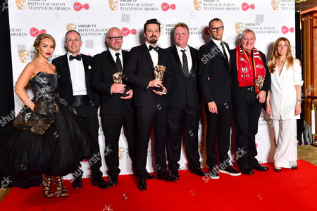 Single Documentary  -  Winner Hillsborough Presented by Katie Piper and Stacey Dooley with Andy Worboys, Nicholas Bennett, Daniel Gordon, Andy Boag, Phil Scraton, Tim Atack and John Battsek