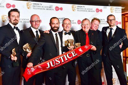 Single Documentary  -  Winner Hillsborough with Andy Worboys, Nicholas Bennett, Daniel Gordon, Andy Boag, Phil Scraton, Tim Atack and John Battsek