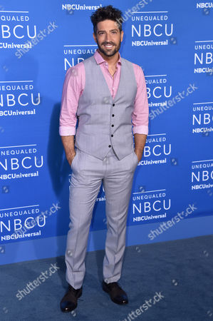 Editorial picture of NBCUniversal Upfront Presentation, Arrivals, New York, USA - 15 May 2017