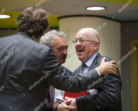 Bert Koenders, Jean Asselborn and Charles Flanagan