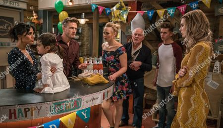When Nell, as played by Scarlett Archer, arrives all dressed up and looking like Holly to Amba's birthday party, she immediately turns Jai Sharma, as played by Chris Bisson, and Ross's heads. Priya Kotecha's, as played by Fiona Wade, pleased to see how good Nell is with her daughter but it's not long before she's horrified to find Amba with pills in her hands...and the finger is pointed at the addict - but has the youngster swallowed any? Will Jai re-think his relationship with Nell and will an even more vulnerable Nell be revealed? (Ep 7826 - Tue 16 May 2017)