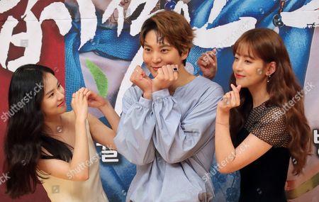 Kim Yoon-hye, Joo Won and Oh Yeon-seo