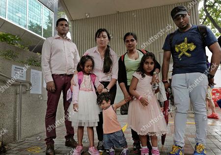 Editorial image of Snowden Refugees, Hong Kong, Hong Kong - 15 May 2017