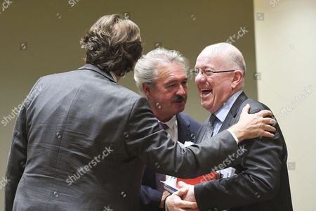 Alfonso Maria Dastis Quecedo, Jean Asselborn and Charles Flanagan