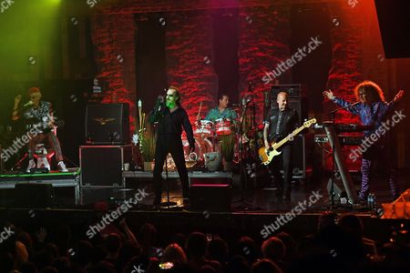 The Damned - Captain Sensible, Dave Vanian, Pinch, Stu West, Monty Oxymoron