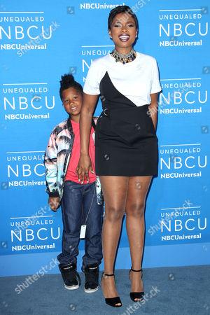 Jennifer Hudson with her son David Daniel Otunga Jr