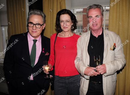 Peter York, Haydn Gwynne and guest