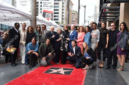Editorial photo of Ken Corday honoured with Star on the Hollywood Walk Of Fame, Los Angeles, USA - 15 May 2017