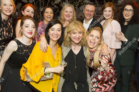 Vicky Featherstone (Director), Lee Hall (Adaptation), Sonia Friedman (Producer) and members of the cast