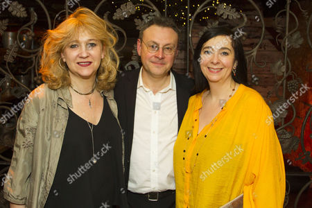 Stock Picture of Sonia Friedman (Producer), Lee Hall (Adaptation) and Vicky Featherstone (Director)