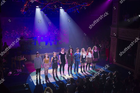 Editorial image of 'Our Ladies of Perpetual Succour' curtain, Press Night, London, UK - 15 May 2017