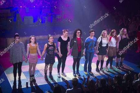 Editorial picture of 'Our Ladies of Perpetual Succour' curtain, Press Night, London, UK - 15 May 2017