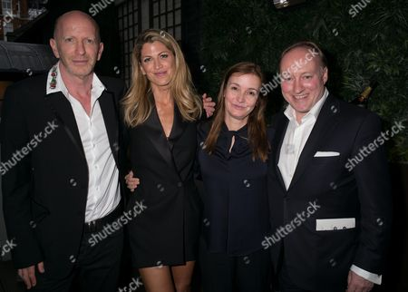 Natalie Livingstone, Catherine Ostler, Simon Sebag-Montefiore, Andrew Roberts