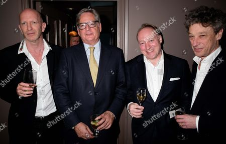Stock Picture of Simon Sebag-Montefiore, Dominic Lawson, Andrew Roberts, Count Adam Zamoyski