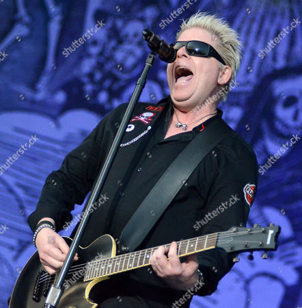 Lead singer Dexter Holland of The Offspring performs during the Northern Invasion Music Festival in Somerset, Wisconsin