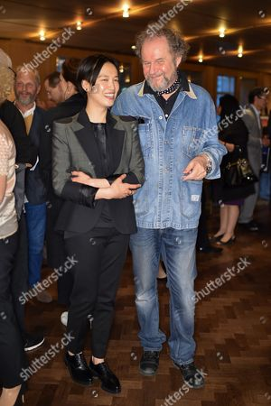 Rosey Chan and Mike Figgis