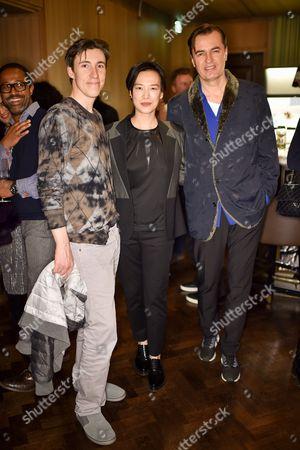 Gregg Wilson, Rosey Chan and Patrik Schumacher