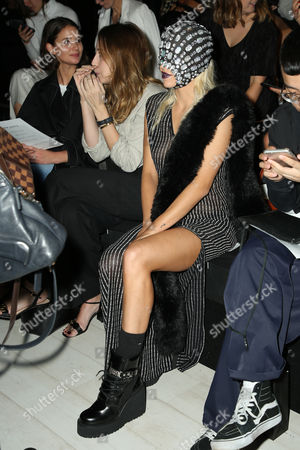 Imogen Anthony in the front row