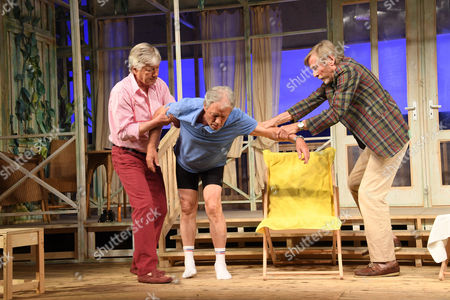 Christian Wolff, Hans-Juergen Baeumler, Horst Janson