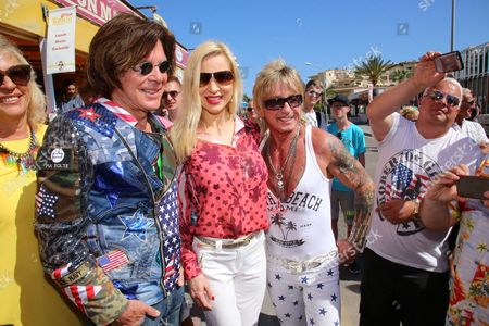 "Editorial image of 7th season opening party of the bistro ""Koenig von Mallorca"", Santa Ponca, Spain - 15 May 2017"