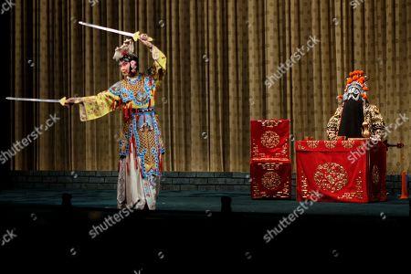 Editorial picture of Peking Opera, Beijing, China - 13 May 2017