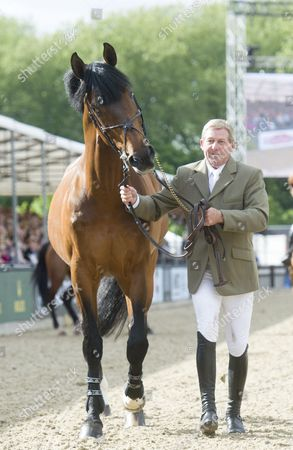 Stock Image of Nick Skelton and Big Star who are retiring