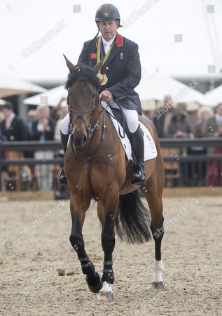 Stock Picture of Nick Skelton and Big Star who are retiring