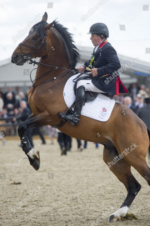 Stock Photo of Nick Skelton and Big Star who are retiring
