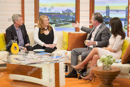 Eric Anderson, Harriet Minter with Piers Morgan and Susanna Reid