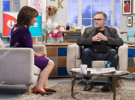 Lorraine Kelly and Charlie Higson
