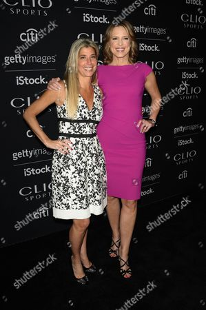 Nicole Purcell and Hannah Storm