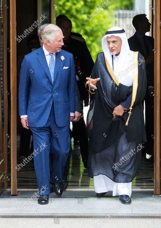 Prince Charles and Prince Turki Bin Faisal Al Saud