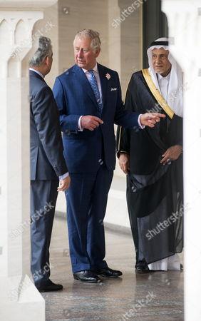 Dr Farhan Nizami, Prince Charles and Prince Turki Bin Faisal Al Saud
