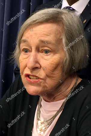 Illinois House Majority Leader Barbara Flynn Currie, D-Chicago, speaks, in Springfield, Ill., as she discuss the offer they made last week to negotiate over the non-budget structural changes Gov. Bruce Rauner is seeking. They say the Rauner administration has not responded. Republican Rauner said the House Democrats are trying to create a distraction from progress made on a budget compromise in the Senate