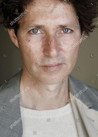 Editorial image of Stefan Ahnhem portrait session, Stockholm, Sweden - 11 May 2017